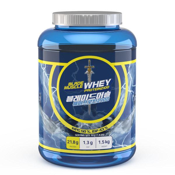 단백질보충제 쉐이크 블레이드머슬웨이프로틴 2.25kg 상품이미지