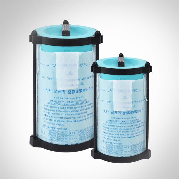 매직파워 압축휴지통 10L 20L/종량제 봉투/쓰레기통 상품이미지
