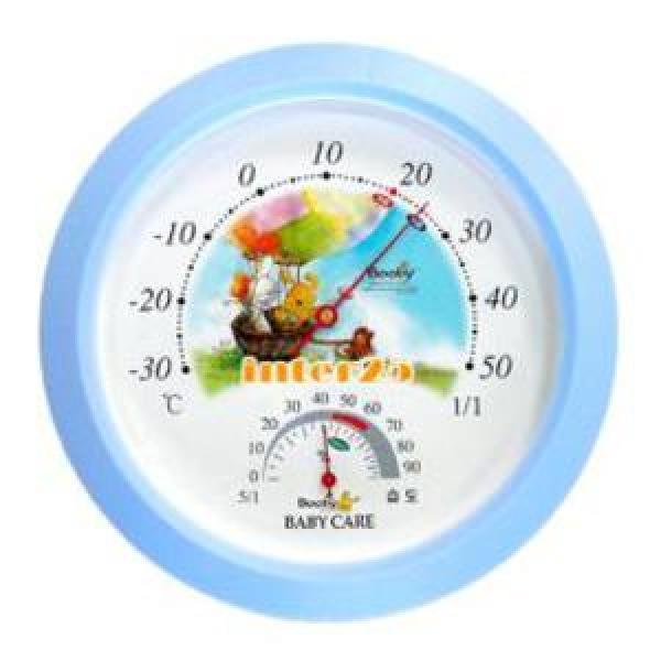 은성 부비 온습도계/ 원형 온도계 습도계. 출산용품 상품이미지