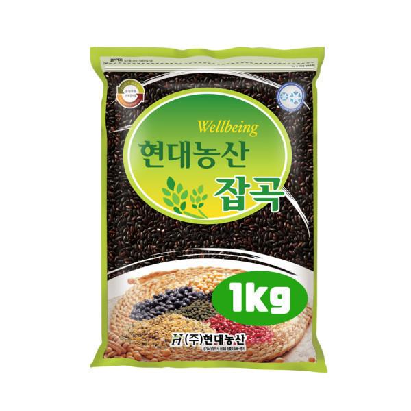 흑미 1kg /검정쌀 상품이미지