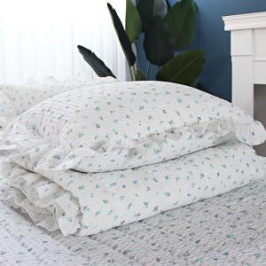 시어서커 여름이불세트 홑이불 침대패드 이불세트