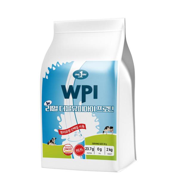 단백질 보충제 프로틴 유청 분말 쉐이크  리얼WPI 2kg 상품이미지