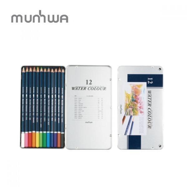 문화 문화 고급 수채 12색연필(틴) 상품이미지