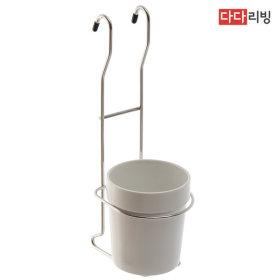 걸이형 도자기 수저통 수저 꽂이 주방 싱크대 선반