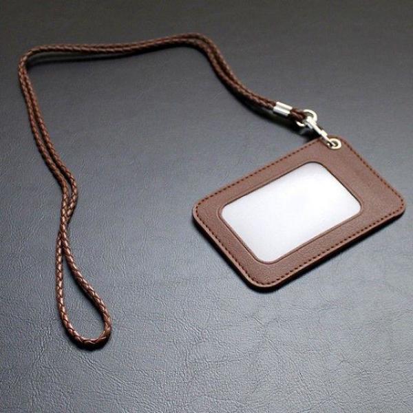 리더플랜 디자인 카드 목걸이 지갑 고급형 사원증 상품이미지