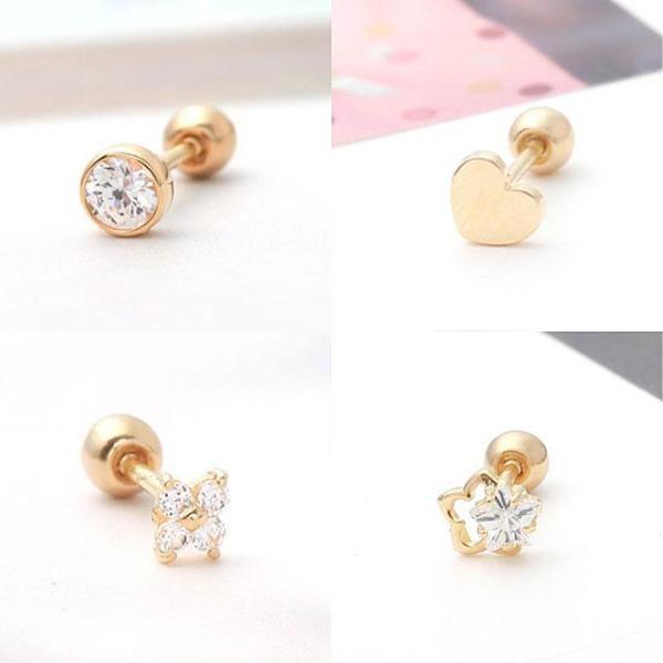 정품 10K Gold(41.6) 한쪽 피어싱(Piercing) 기획전 상품이미지