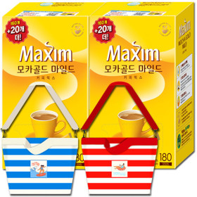 맥심 모카골드 커피믹스 320T +사은품 증정/캐시백