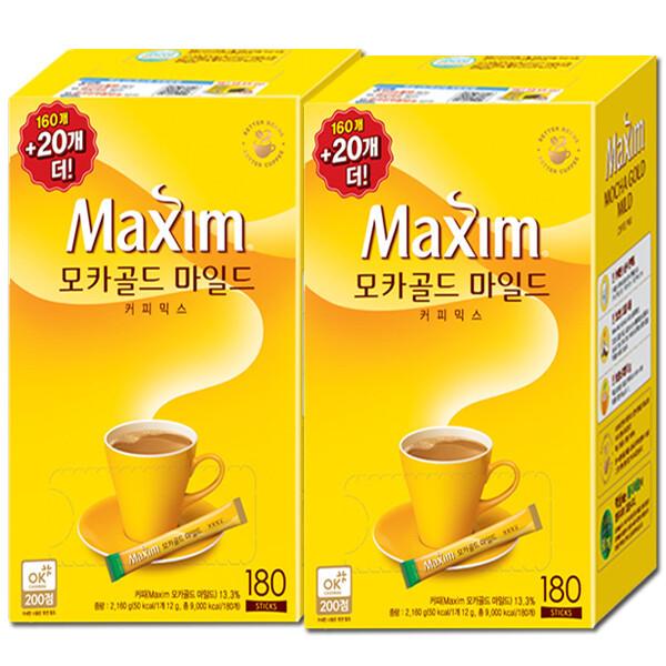 맥심 모카골드 커피믹스 320T +사은품: 쿠폰가 31800원 상품이미지