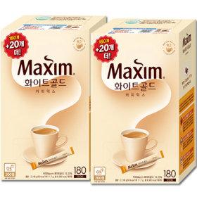 맥심 화이트 골드 커피믹스 320T +파스텔머그세트