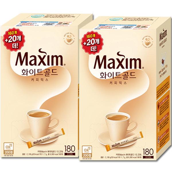 맥심 화이트 골드 커피믹스 320T : 연아의 커피~ 상품이미지