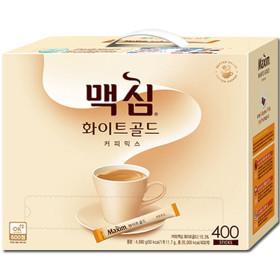 맥심 화이트골드 커피믹스 400T : 커피/모카골드