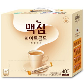 맥심 화이트골드 커피믹스 400T : 연아의 커피 ~
