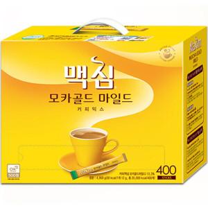 [맥심]맥심 모카골드 커피믹스 400T +사은품/커피/국민커피~