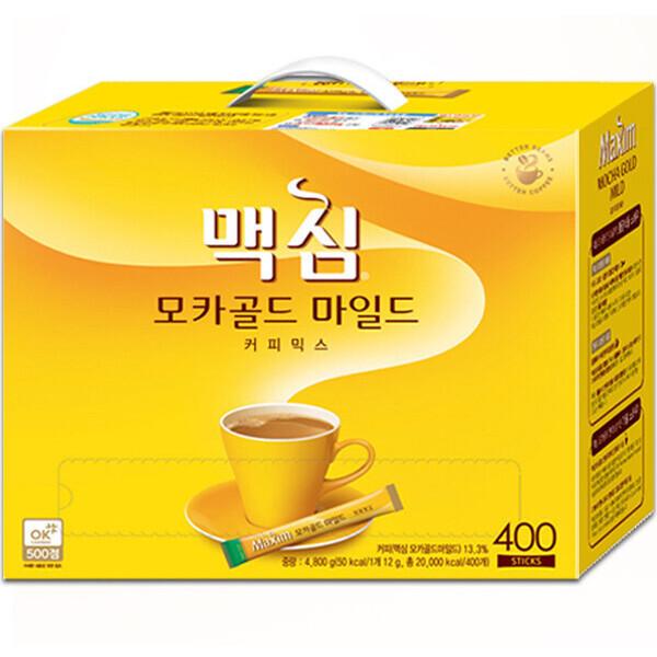 맥심 모카골드 커피믹스 400T +사은품 증정/캐시백 상품이미지