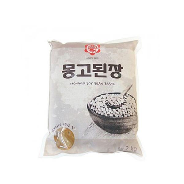 WF) 몽고된장 2kg (김장/식자재/식재료) 상품이미지