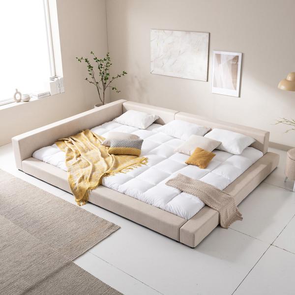 아씨방가구 1+1 저상형 침대/패밀리침대(매트포함) 상품이미지