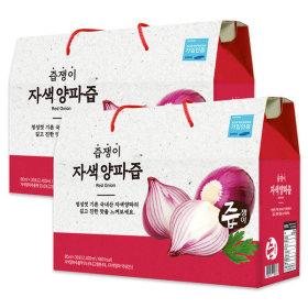 jeupjaeng-i Purple Onion Juice 2 boxes 60 pouches Onion squeeze