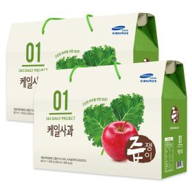 jeupjaeng-i Kale apple juice 2 boxes 60 pouches kale juice