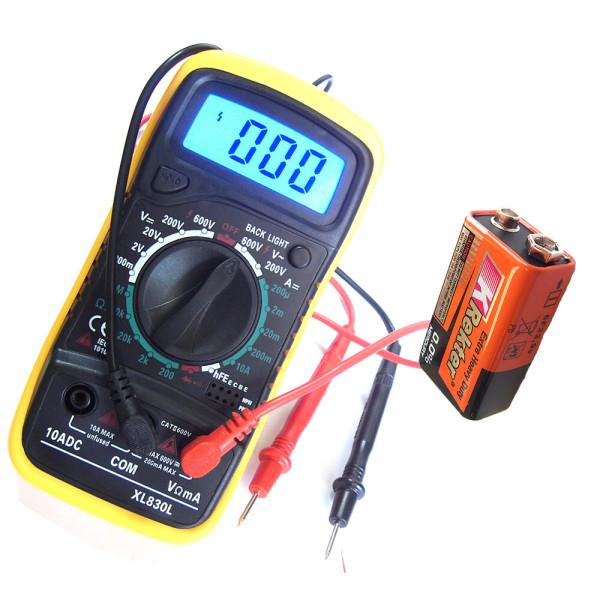XL830L멀티테스터기 멀티메타  전압전류 전기테스터기 상품이미지
