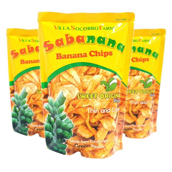 필리핀/ 1봉 사바나나 바나나칩 사바나나칩 간식 과자 상품이미지