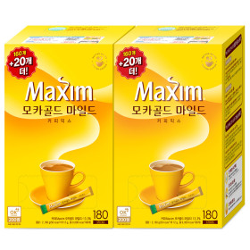 모카골드 커피믹스 160T+160T +사은품