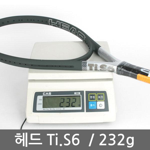 232g 헤드 Ti.S6 테니스라켓/테니스용품/테니스화/공 상품이미지