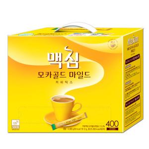 [맥심]모카골드 커피믹스 400T +사은품랜덤/커피 :