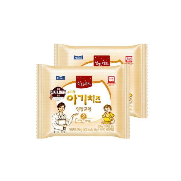 매일 상하치즈 아기치즈 2단계 80매/치즈 상품이미지