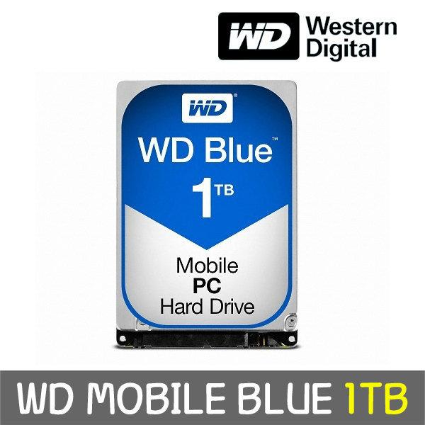 WD MOBILE BLUE 1TB 7mm WD10SPZX +正品 공식판매점+ 상품이미지