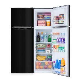 소형냉장고 168L 2도어 블랙 미니 일반 냉장고 1등급
