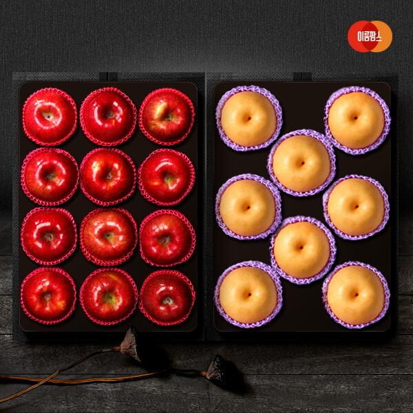 다복 사과.배 세트4호 배5kg(7-8과)+사과3.5kg(10-12과) 상품이미지