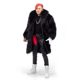 [YG E-SHOP] G-Dragon action figure / 12 inch / red hair /