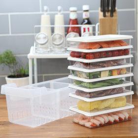 냉장고정리 고급형A/밀폐용기 소분 반찬통 플라스틱