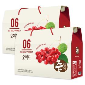 jeupjaeng-i Omija Juice 2 boxes 60 pouches