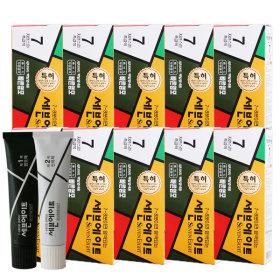 세븐에이트 새치 염색약 10+1세트 (7호 흑갈색)