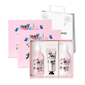 Medi Flower Romantic Perfume Body Set 5+1 giveaway/+Shopping bag