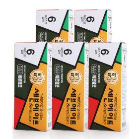 세븐에이트 새치 염색약 5종세트 (6호 갈색)
