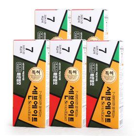 세븐에이트 새치 염색약 5종세트 (7호 흑갈색)