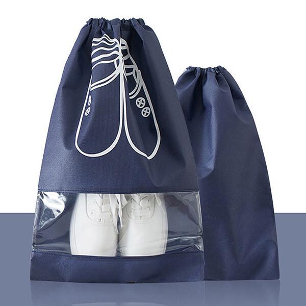 신발주머니/여행슈즈 파우치/보조가방/실내화/수납백 상품이미지