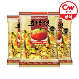 청우 호박엿골드 400g x 3봉/캔디/사탕/카라멜/캬라멜