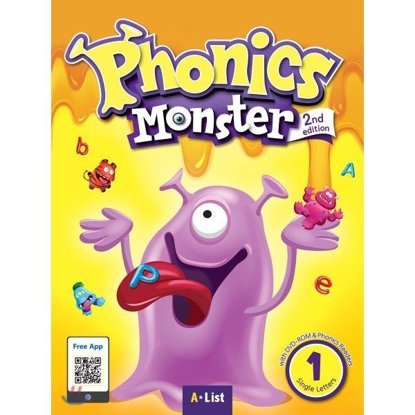 Phonics Monster 1 : Student Book  2/E  A List 상품이미지