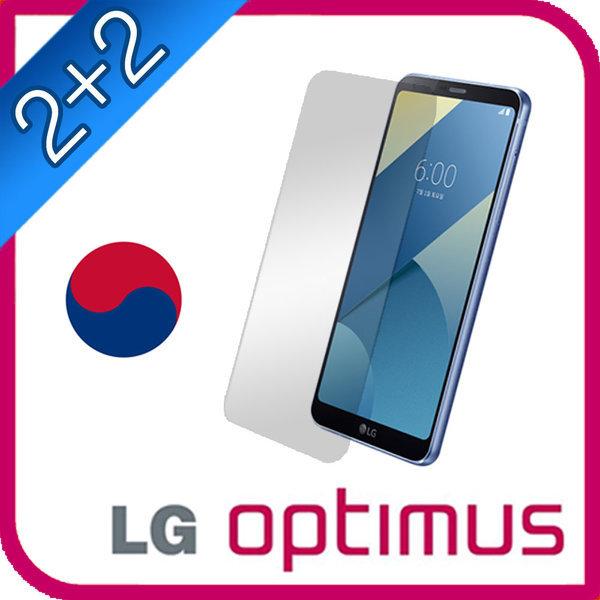 2+2 LG 옵티머스 전용 액정보호필름/풀커버/지문방지 상품이미지