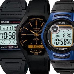 [카시오]카시오 전자손목시계 남성여성 학생군인 W-800H-1A