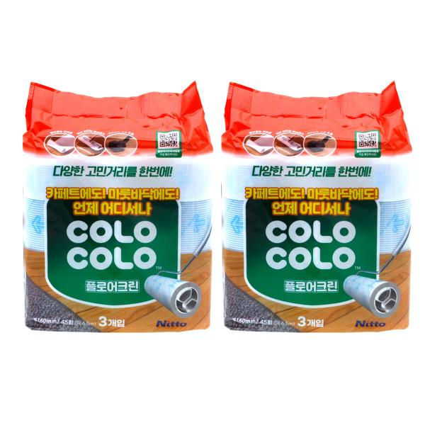 고로고로 일본산 더블 W 마루용 리필 2봉 (6개) 상품이미지