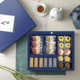 화과방 생과자 종합세트(모나카+양갱+생과자)+쇼핑백