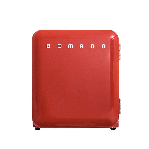 [보만] 레트로 소형냉장고 44L KS2040 (Red)