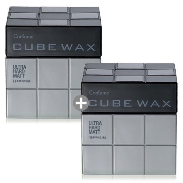 컨퓸 큐브 헤어왁스 1+1 울트라 하드매트 상품이미지