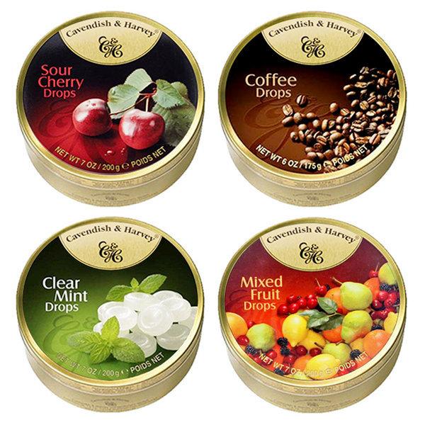 캐빈디쉬하비캔디 200g/체리/커피/민트/종합과일/독일 상품이미지