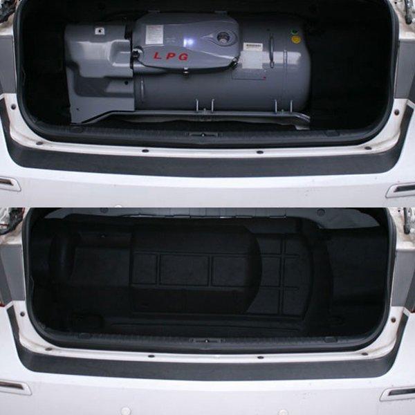 (케이원모터스) 트랜디 뉴EF소나타 전용 LPG 가스통가리개 가스통커버 트렁크스크린 상품이미지