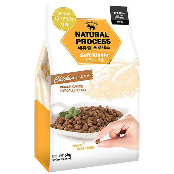 네츄럴프로세스 유기농 소프트키블 치킨 6kg/습식사료 상품이미지